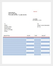Graphic Design Invoice Template Free Download  Graphic Design Invoices