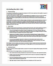 ECU-Staffing-Plan-PDF-Template-Free-Download