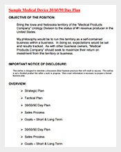 Sample-Medical-Device-30-60-90-Day-Plan-PDF-Free-Download