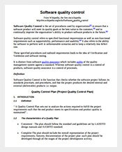 Software-Quality-Control-Plan-PDF-Format-Free-Download