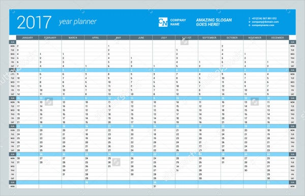 Calendar Template - 18+ Free Psd, Vector Eps, Png Format Download
