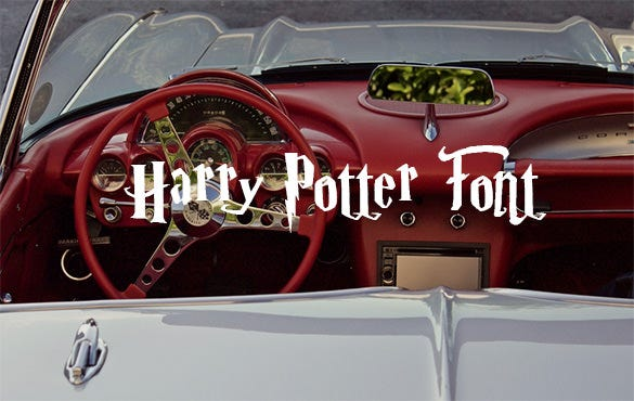 parry hotter font