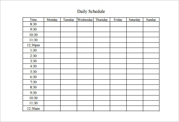 excel week calendar how to create a weekly schedule in excel work