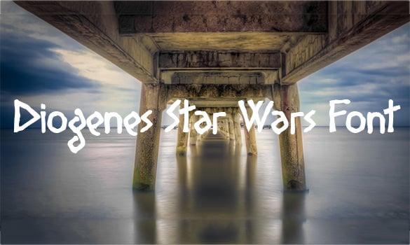 diogenes star wars font