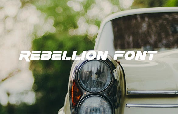 rebellion font free download