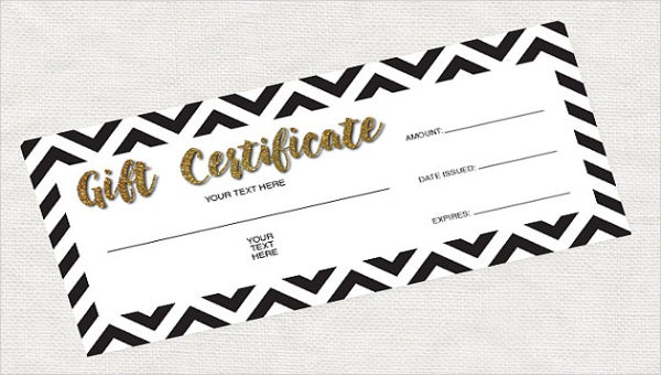 Blank Gift Certificate Template - 13+ Free Word, PDF Documents Download!