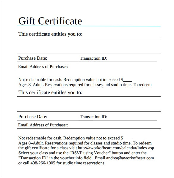 Gift Certificate Template 32 Examples in PDF Word In Design – This Certificate Entitles You to Template