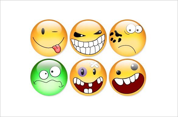 aqua smiles funny icons