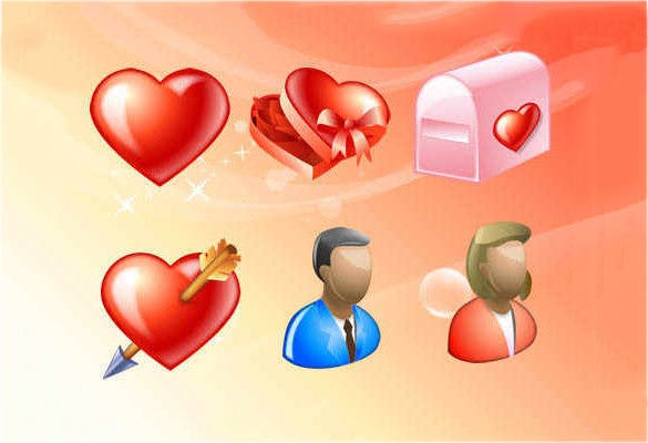 delicious love icons download