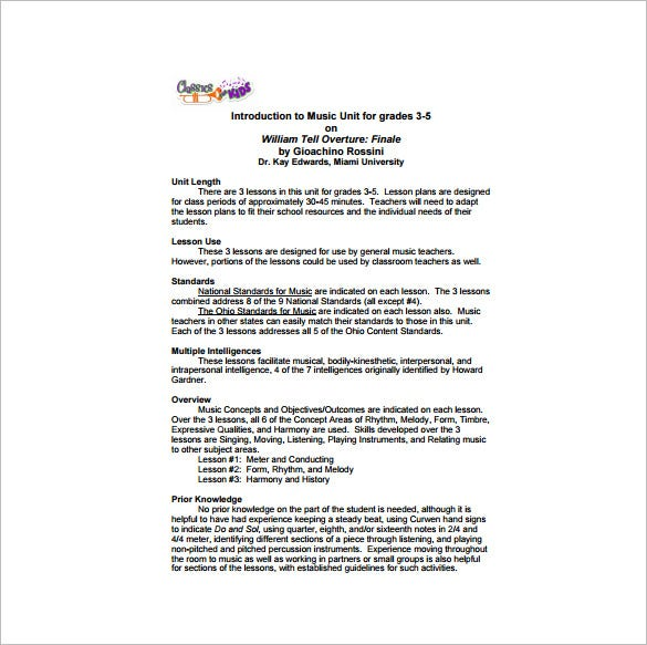 Music Lesson Plan Looking For Exciting Kindergarten Music Lesson - Music lesson plan template