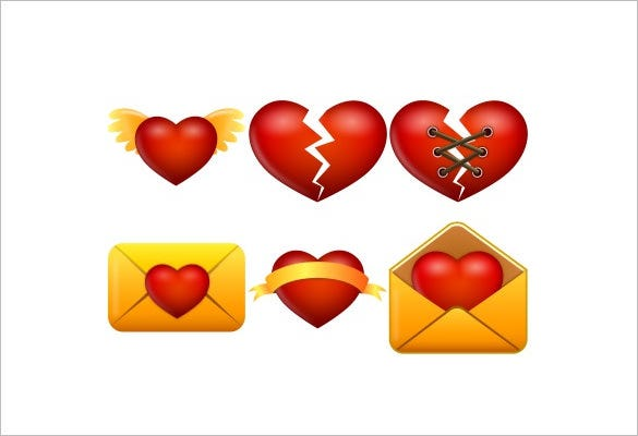 20 facinating love icon download