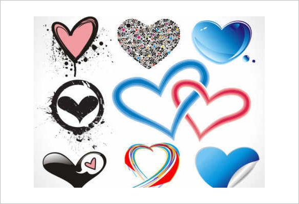valentine vector love icons download