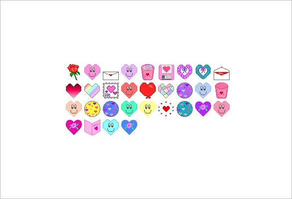 31 fabulous love icons for you