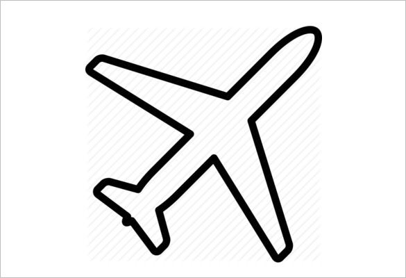 Airplane Icons 4362 Psd Png Eps Vector Format Download