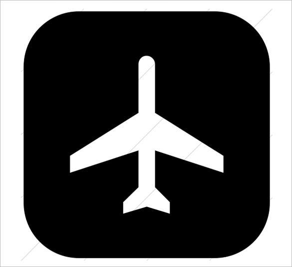 243 humanitarian icons logistics airport icon
