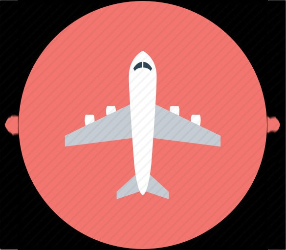 50 astonishing aeroplane icons for you