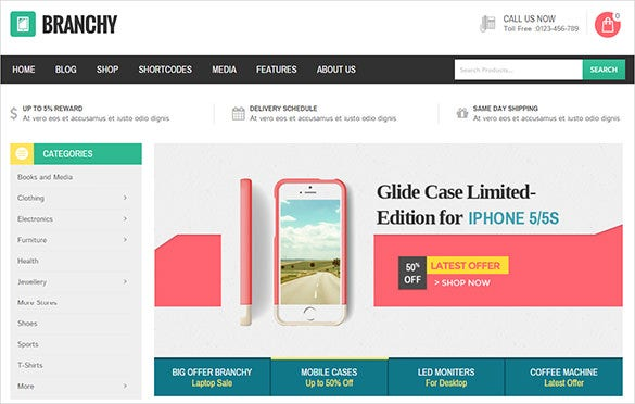 multi purpose mobile store woocommerce theme