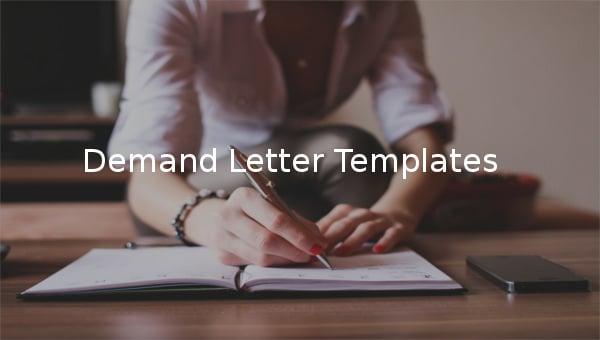 demand letter templates