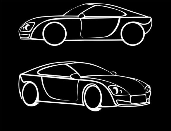 premium vector car icons for you