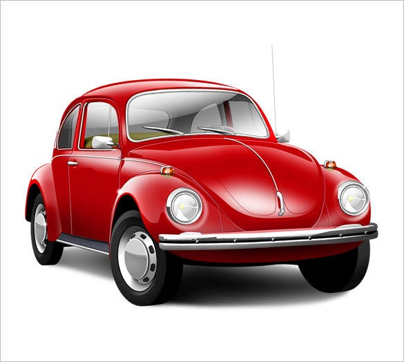 6 astonishing volkswagen beetle icons