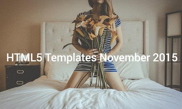 HTML5-Templates-November-2015