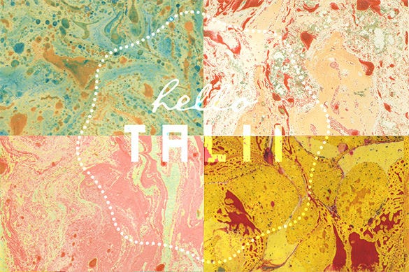 12 sunny marble paper textures