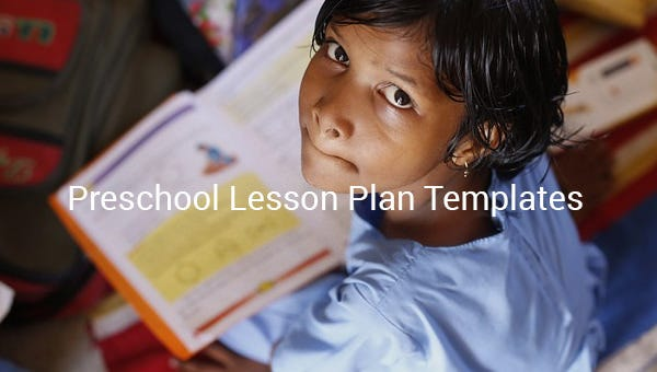 Preschool Lesson Plan Template - 11+ Free PDF, Word Format Download