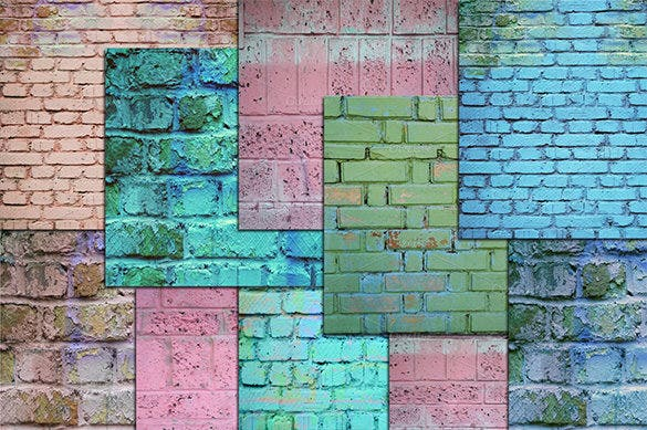 10 brick wall distressed textures