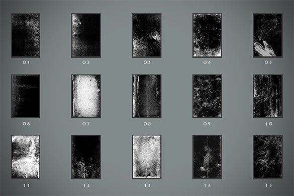 15 fabulous distressed textures download