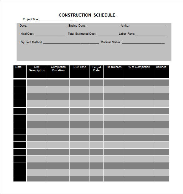 12 activity schedule templates word excel pdf free premium templates. Black Bedroom Furniture Sets. Home Design Ideas