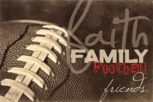 awesome family football texture for you