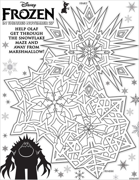 image relating to Printable Marshmallow Template referred to as Snowflake Templates 49+ Free of charge Phrase, PDF, JPEG, PNG Layout