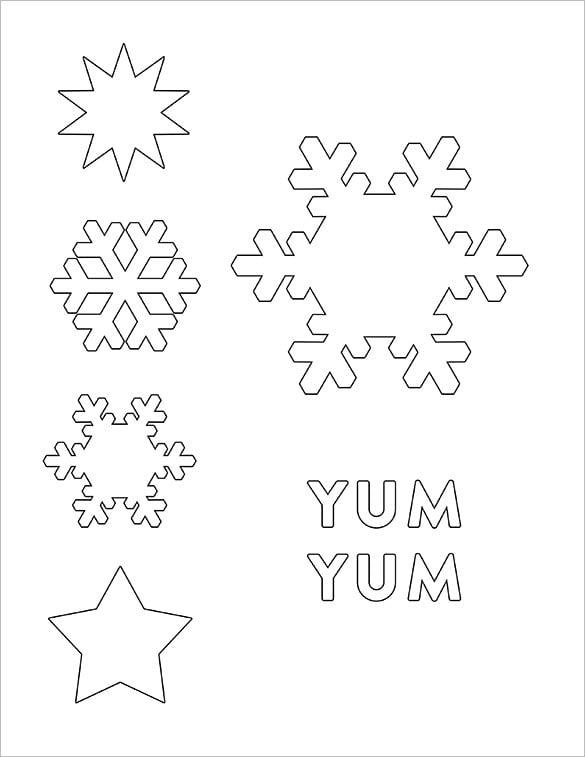 diy cake beverage stencil snowflake designs