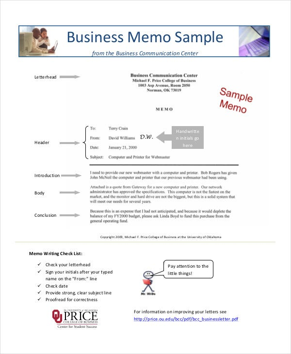 Simple Memo Template - 16+ Free Word, Pdf, Psd Documents Download