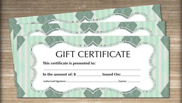 blank gift certificate template2