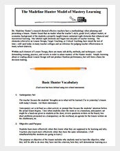 Madeline-HunterLesson-Plan-Mastery-Learning-Sample-PDF