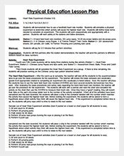 Lesson Plan Template Free Sample Example Format Download - Lesson plan template for physical education
