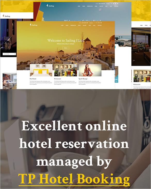 wordpress theme for hotel