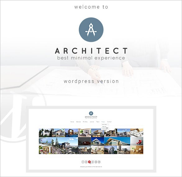 wordpress theme for architects