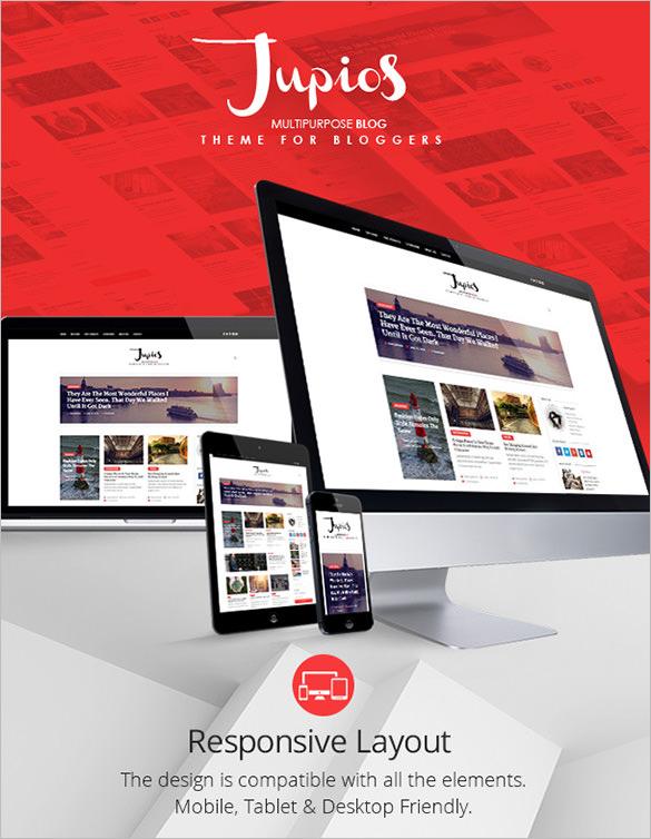 responsive multipurpose blog theme