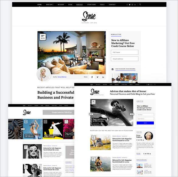 authority wordpress blog theme