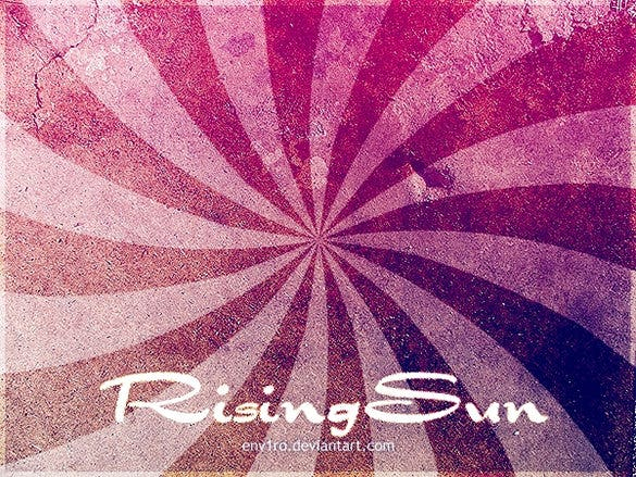 rising sun brushes