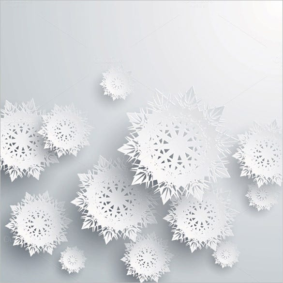 paper snowflake template illustrator download