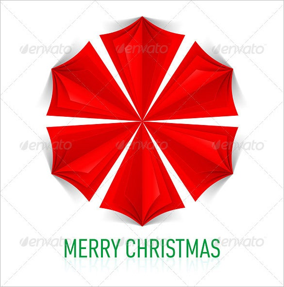 red paper snowflake template in vector eps format
