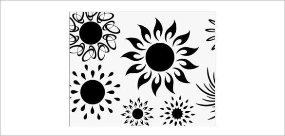 51 sun brushes