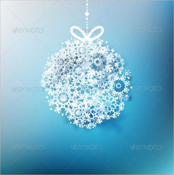 winter paper snowflake template premium download