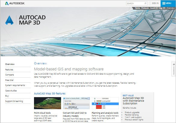 Autocad-Map-3D---Mapping-&-Modeling-Software
