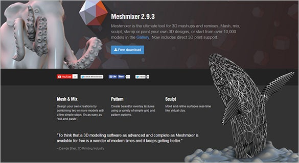 Meshmixer---3D-Mashup-Software
