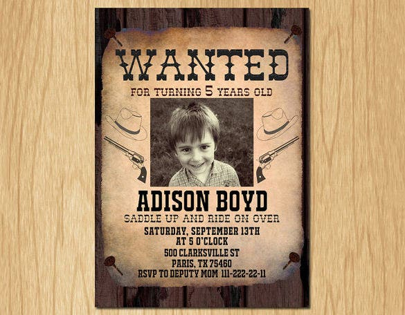 Wanted Poster Template – Template for a Wanted Poster