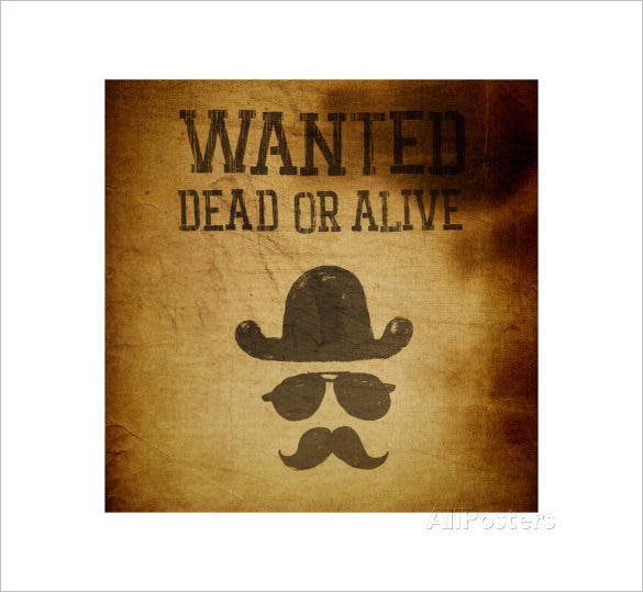 vintage old wanted poster download